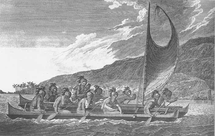 marineros polinesios antiguos
