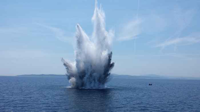 pesca con explosivos