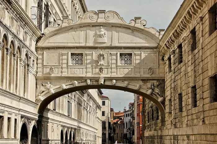 Puente de los Suspiros, Venecia