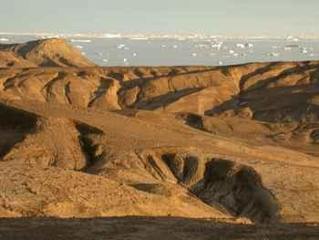 rocas cretácicas en la Isla de Seymour