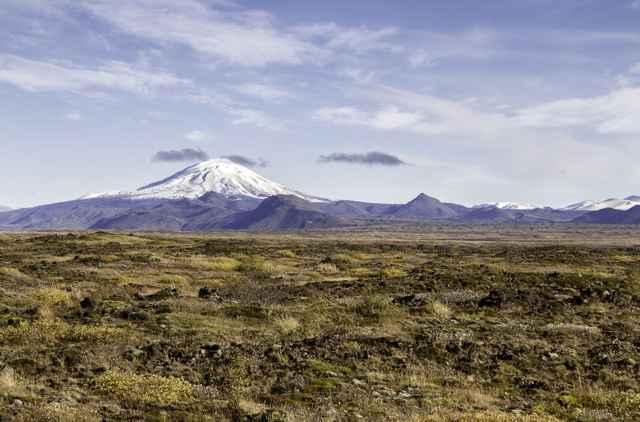 panorámica del volcán Hekla, Islandia