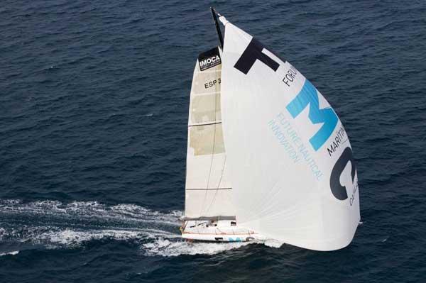 Barcelona World Race, barco del Fòrum Marítim Català