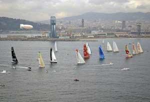 Barcelona World Race, salida