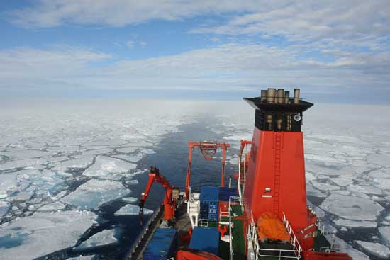 buque oceanográfico Maria S Merian