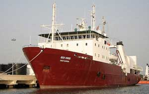 buque oceanográfico Sagar Sampada