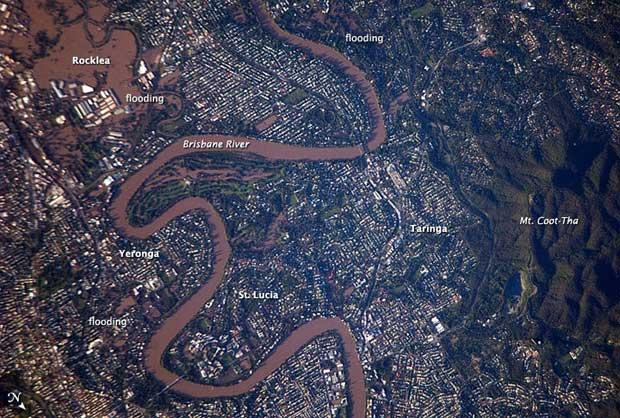 desbordamiento río Brisbane