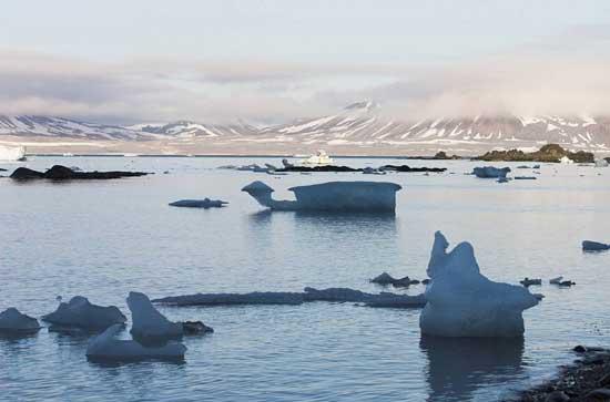 deshielo en Océano ártico