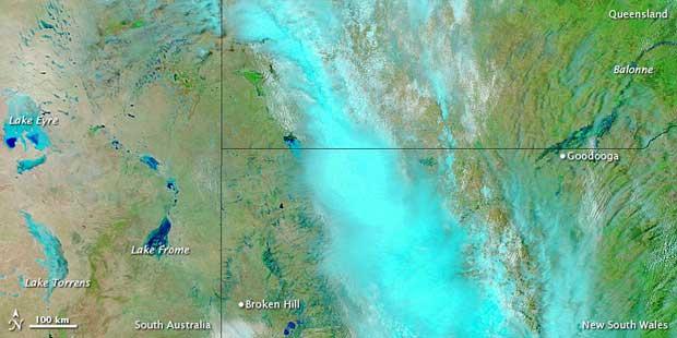 Inundaciones Australia, enero 2011