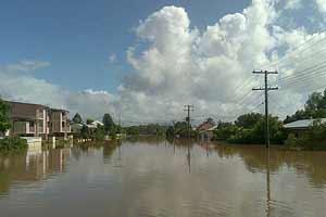 inundaciones en Ipswich, Australia, enero de 2011