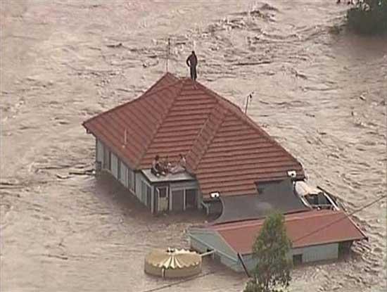 inundaciones Queensland, Australia, enero 2011