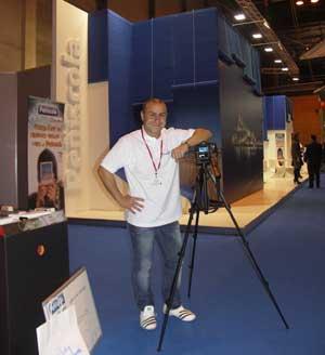 Jorge Robles, concurso fotos stand Peñíscola FITUR 2010