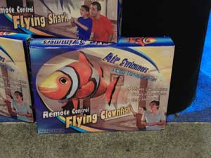 juguete de peces voladores, globos de helio