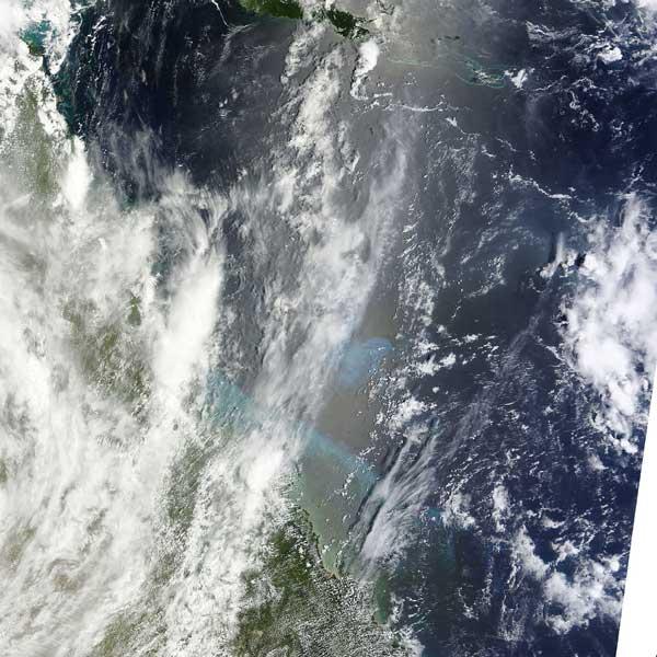 noreste de Australia, imagen MODIS