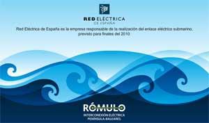 proyecto Rómulo, Red Eléctrica de España