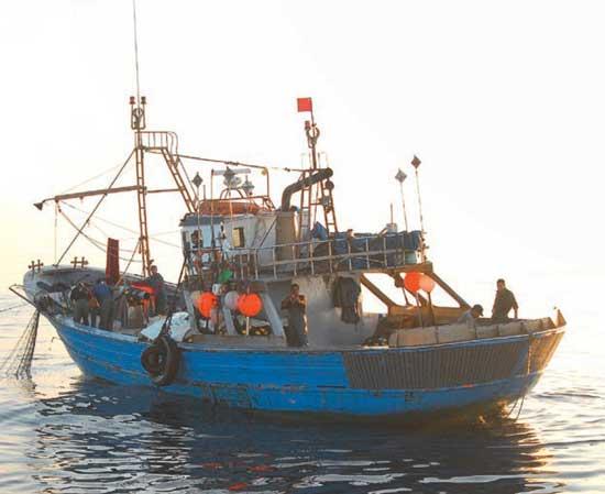 redero ilegal marroqui