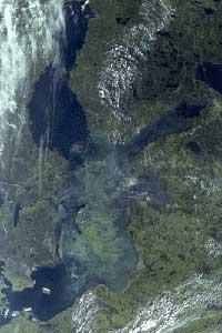 sedimentos Mar Báltico, animación
