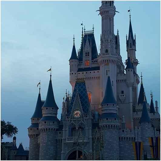 castillo Disney en Orlando, Florida