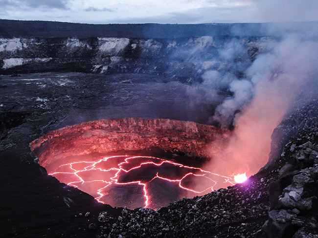 cráter Kilauea