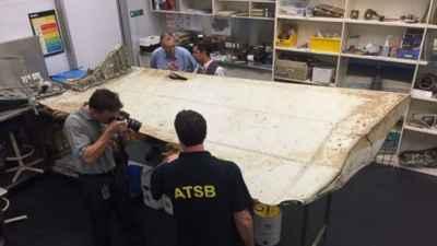flap del vuelo MH370 encontrado en Tanzania
