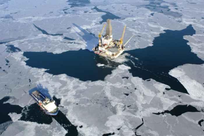 plataforma petrolífera en Sakhalin Island