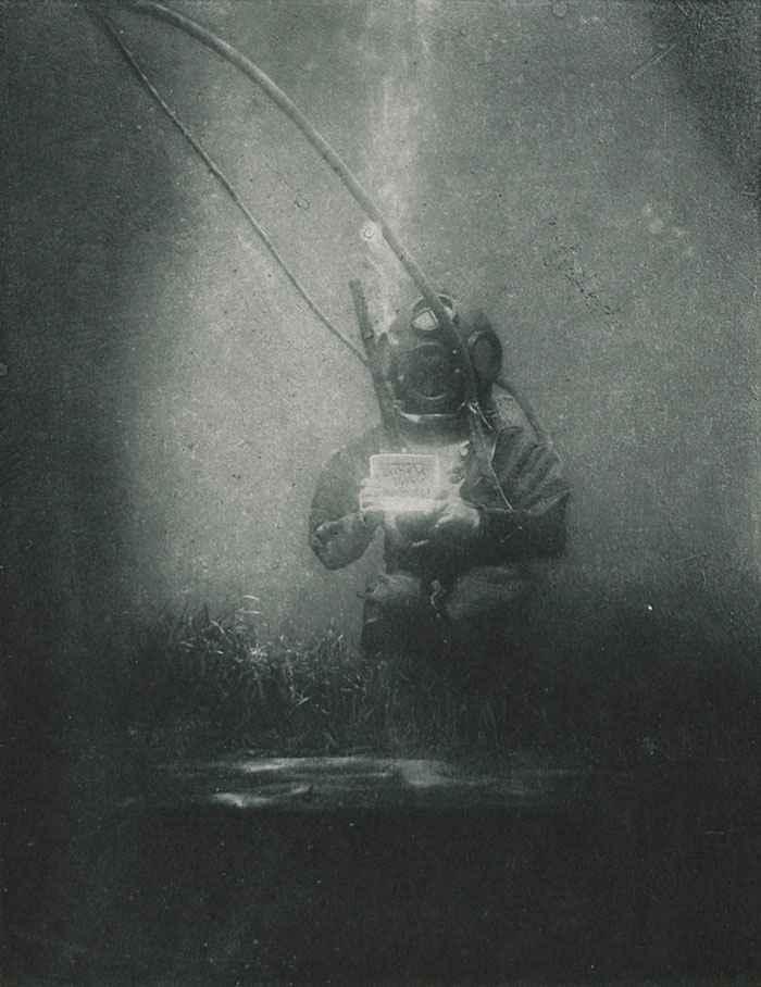 primer retrato submarino del mundo