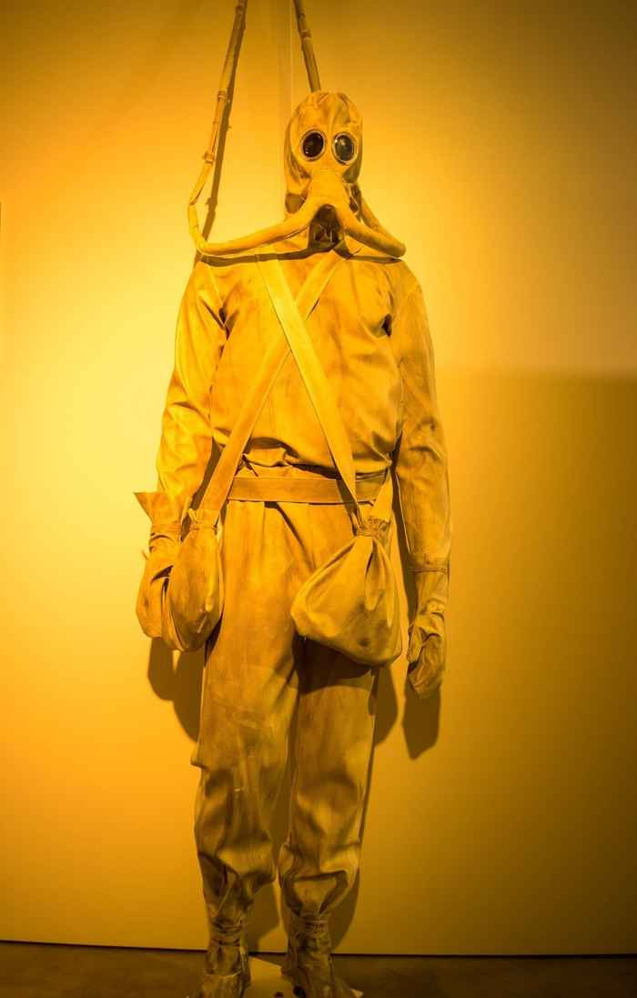 traje de buceo de Leonardo da Vinci