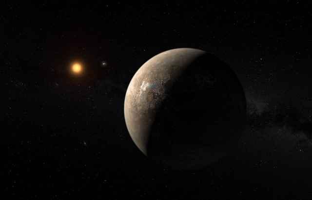 Proxima b orbitanfdo Proxima Centauri