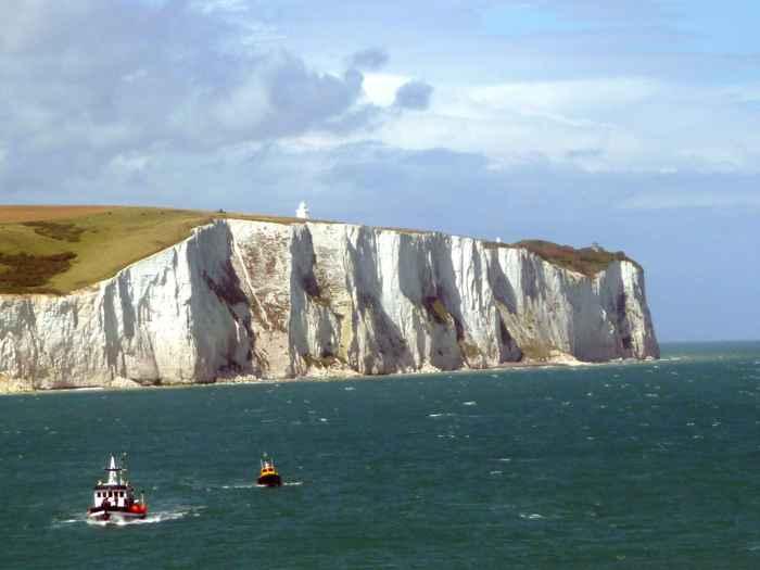 acantilados blancos de Dover