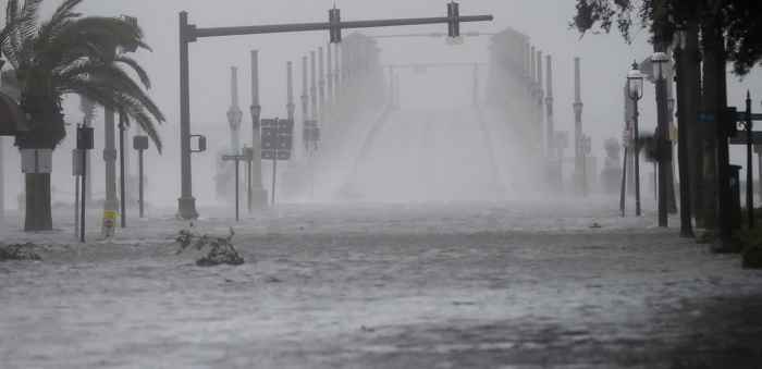 huracán Matthew, inundaciones en Florida