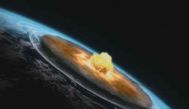 impacto de asteroide en la Tierra