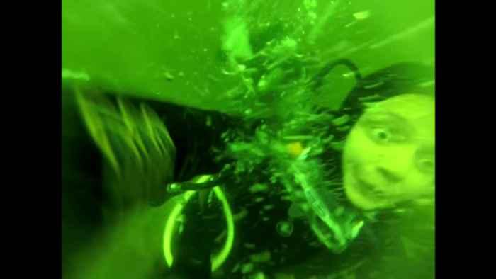 pánico durante el buceo