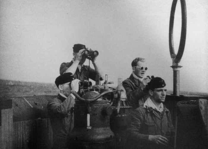 vigías submarino alemán U-576