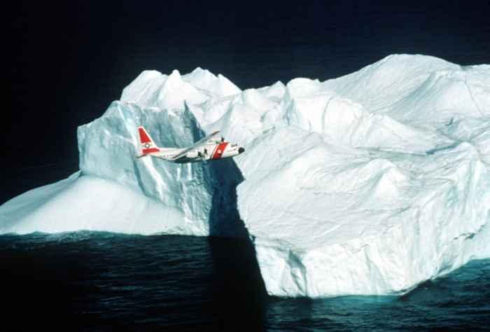 avión de la International Ice Patrol de la Guardia Costera de EE.UU