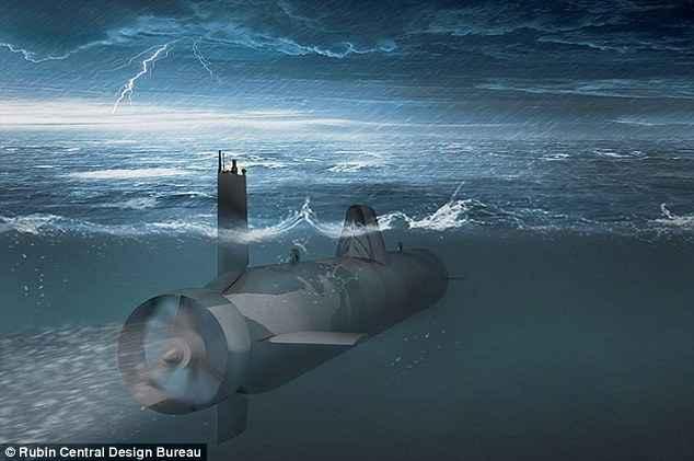 drone submarino ruso