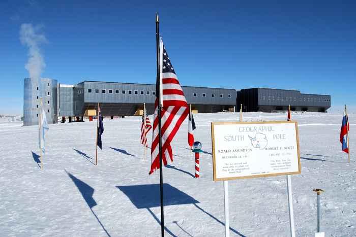 estación Amundsen-Scott de la NSF