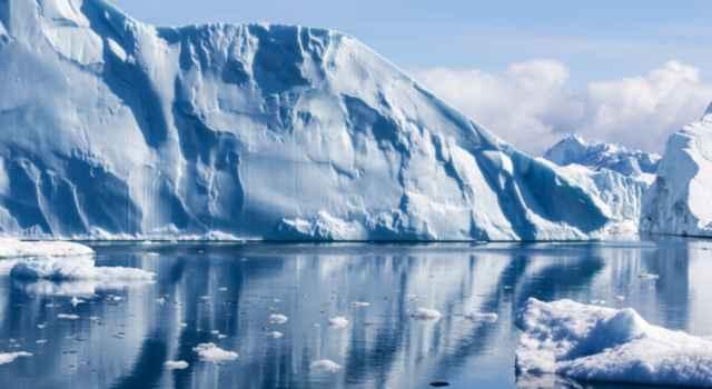 hielo en el Mar de Ross
