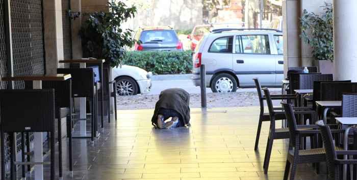 pavimento de Girona
