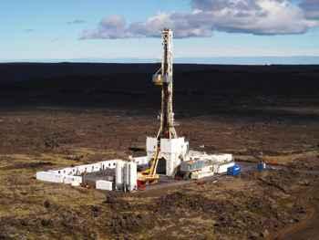 perforación hasta el magma volcánico en Islandia