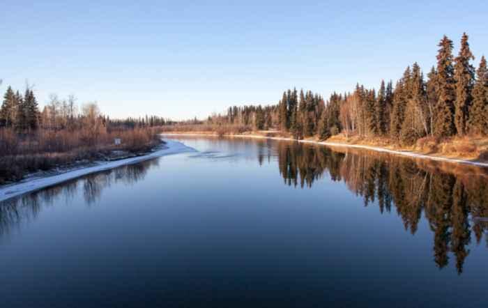 río Chena, Alaska