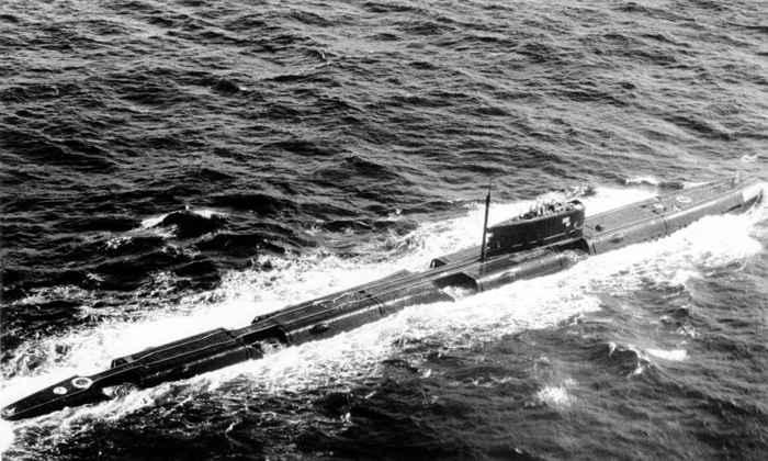 submarino nuclear ruso de la clase Echo II