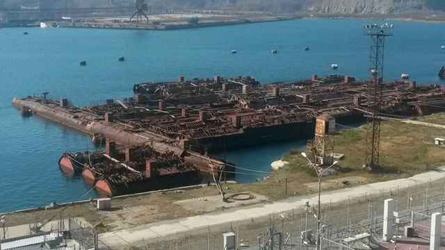 submarinos rusos desechados