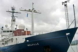 buque oceanográfico R/V Melville