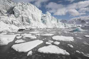 deshielo en el Ártico, NASA