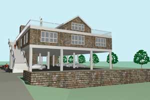 edificio para refugio contra tsunamis en Oregón