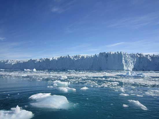glaciar en el Oeste de Groenlandia