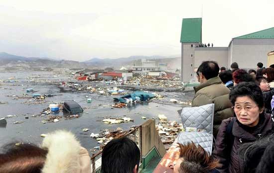 tsunami Japón, marzo de 2011