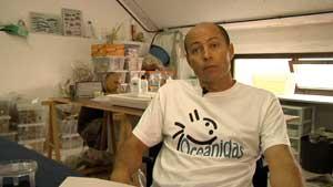 Doctor óscar Ocaña, biólogo marino de Oceánidas y Director del Museo del Mar de Ceuta