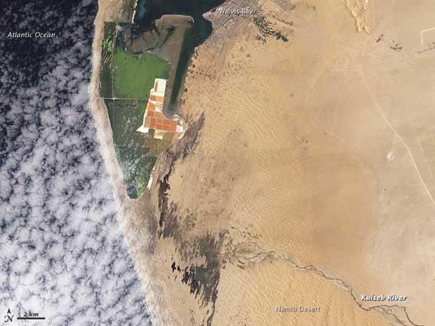 desembocadura río Kuiseb, Namibia