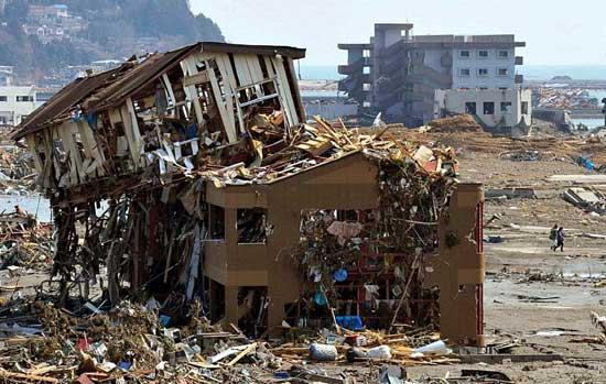 tsunami Japón, zonas inundadas por el mar y casas arrasadas