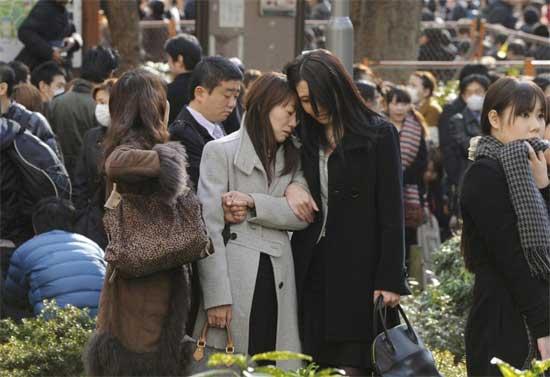 tsunami Japón 11 de marzo 2011, tristeza...